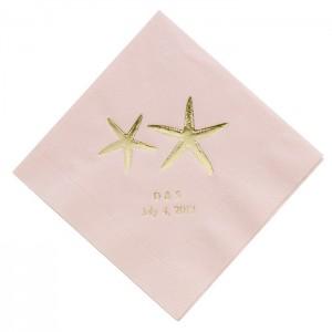 gold napkin